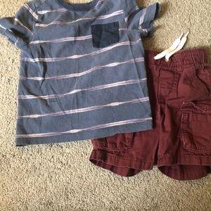 Shorts & t-shirt